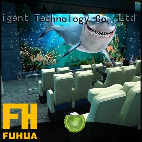 Fuhua Multi-seats 5d cinema supply for cinema