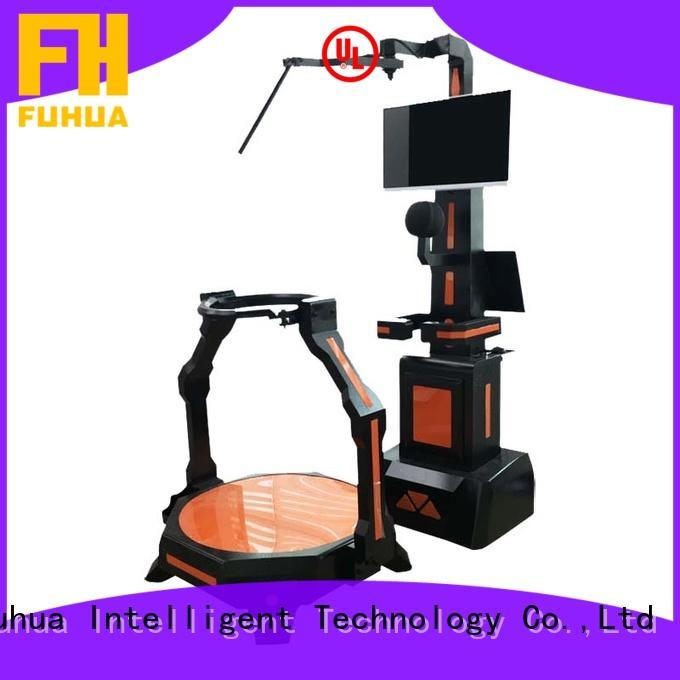 Fuhua players laser shooting simulator dynamic control technology for cinema