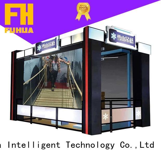 Sports virtual reality bridge Special design museum