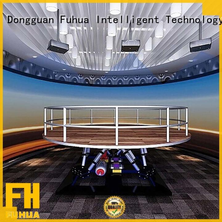 Fuhua Attractive earthquake simulator machine for education for commercial amusement