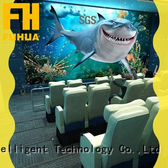 Fuhua 4d 5d cinema Realistic Effect for cinema