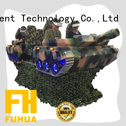 Fuhua Interactive 9d vr simulator different experience for park